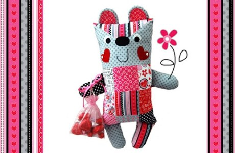 Tutorial: Candy Cutie patchwork softie