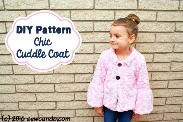 Tutorial: Chic Cuddle Coat for little girls