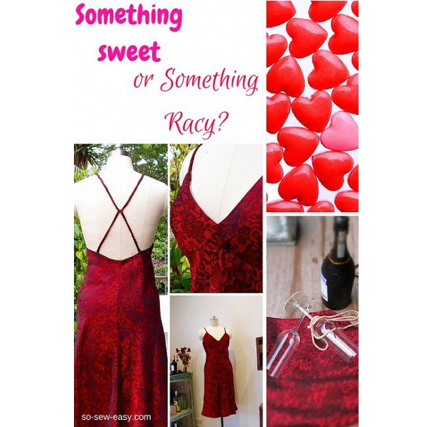 Free pattern: Sexy Valentine's dress
