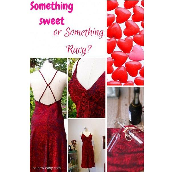 Free pattern: Sexy Valentine's dress