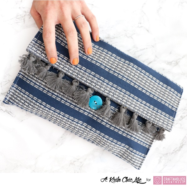 Tutorial: Quick placemat clutch purse
