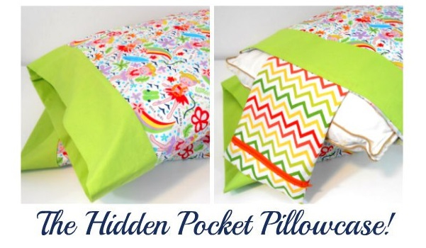 Tutorial: Pillowcase with a hidden pocket