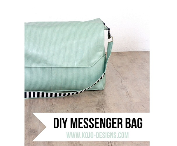 Tutorial: Make yourself a gorgeous messenger bag