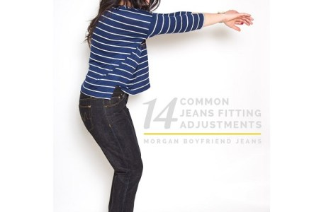 14 adjustments to get your jeans or pants pattern fitting right