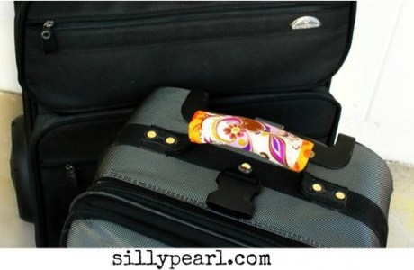 Tutorial: Luggage handle wrap