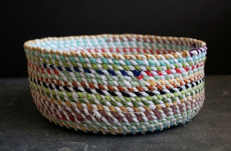 Tutorial: Sew a rope basket