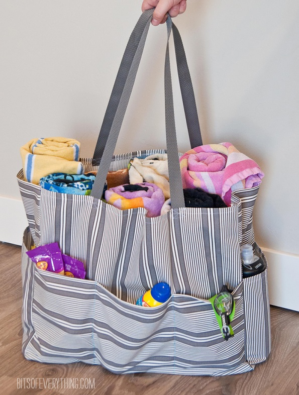 Tutorial: Pool tote bag