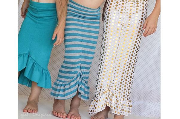 Tutorial: Make a mermaid skirt in just 30 minutes