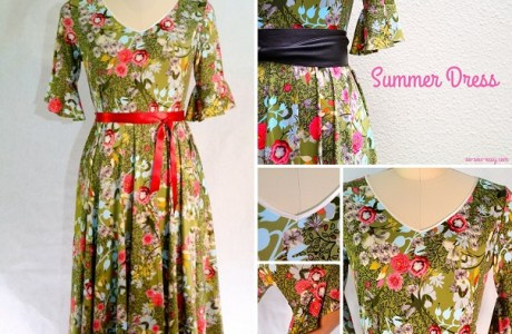 Free pattern: Faviola summer dress