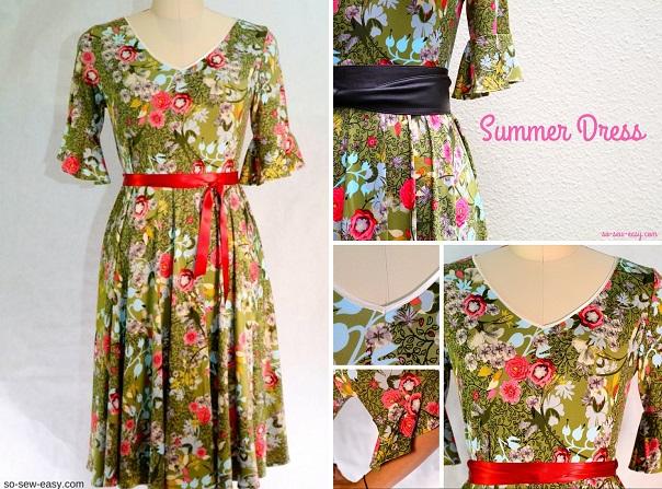 Free pattern: Faviola summer dress