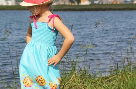 Tutorial: 20-minute shirred sundress