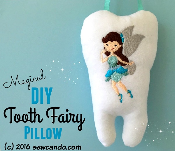 Tutorial: Magical tooth fairy pillow