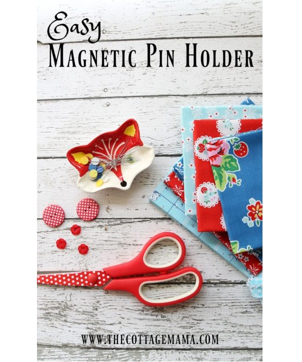 Tutorial: Magnetic dish pin holder
