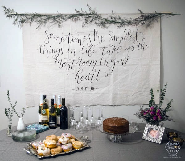 A secret weapon for painting beautiful lettering on fabric