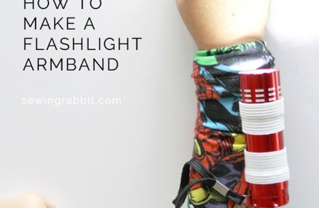 Tutorial: DIY armband flashlight