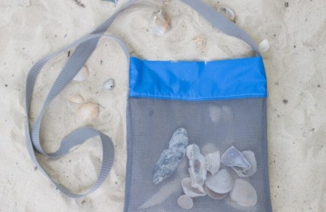 Tutorial: Mesh seashell collecting bag