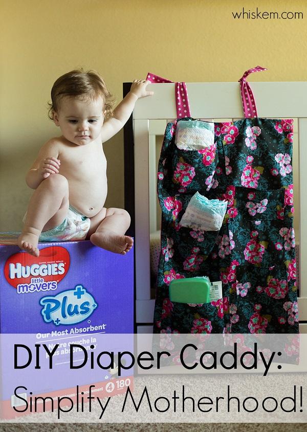 Tutorial: Diaper pocket caddy