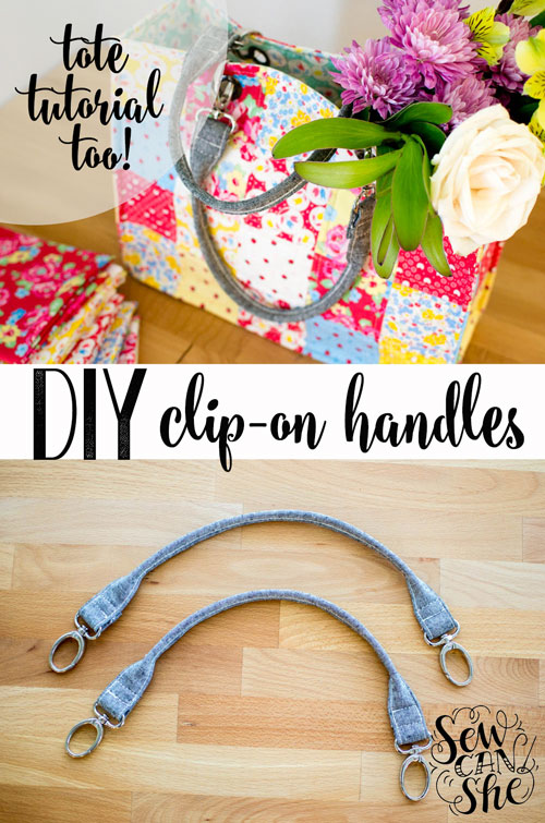 Tutorial: Clip on purse handles