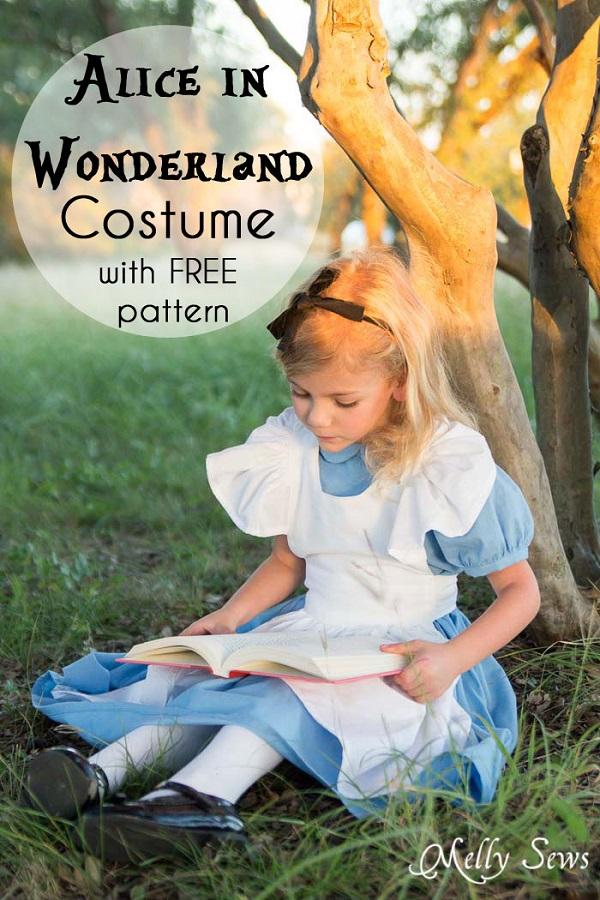 Tutorial DIY Alice In Wonderland costume