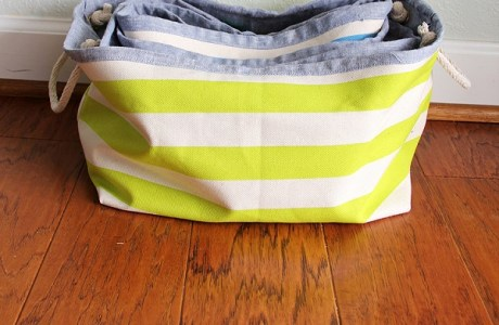 Free pattern: Nested storage baskets