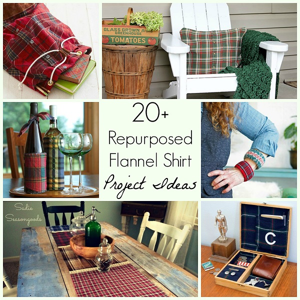 20 Ways To Repurpose A Flannel Shirt Sewing