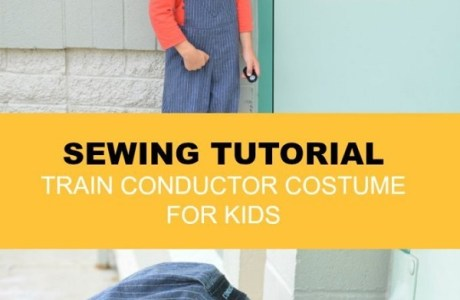Free pattern: Train conductor Halloween costume