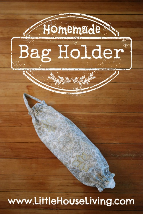 Tutorial How to sew a plastic bag holder
