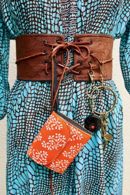 Tutorial: Boho Chic lace up belt with a secret pocket