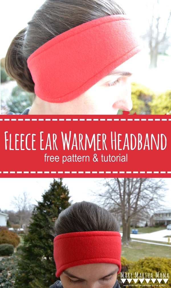 Diy Baby Free Pattern: Fleece Ear Warmer Headband – Sewing