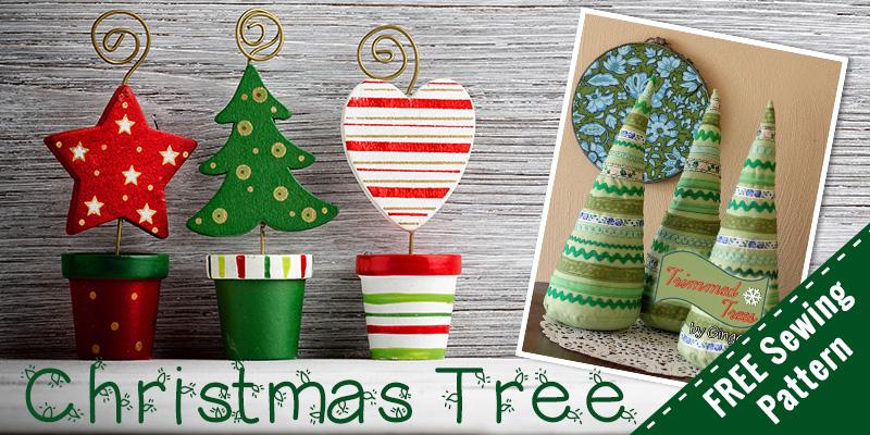 Free Stuffed Christmas Tree Pattern \u2013 Sewing For Beginners