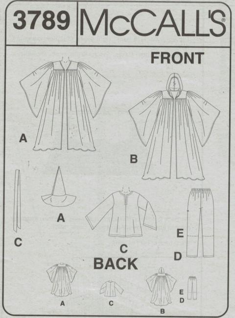 McMinns, Sewing Pattern Robe At Fashion Revue