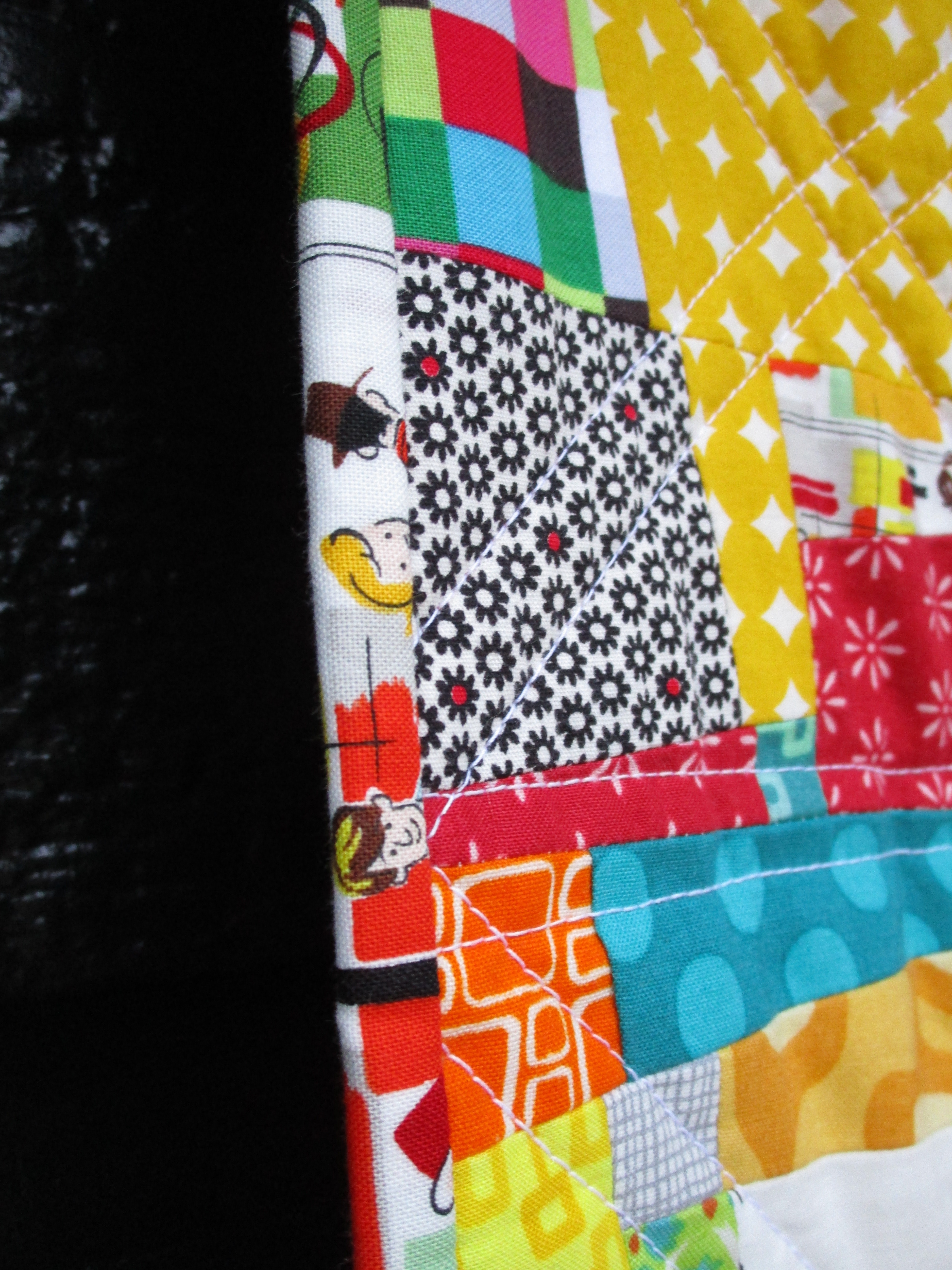 SEW KATIE DID:Side:Split Personality Christmas Quilt