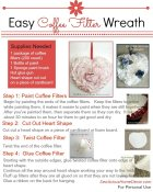 Easy Coffee Filter Wreath Tutorial 240x300 Coffee Filter Wreath Tutorial