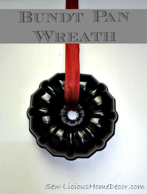 Bundt Pan Wreath 3 Coffee Filter Wreath Tutorial