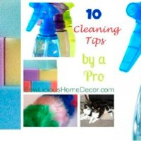10 Cleaning Tips by a Professional Housekeeper! + Free Printable