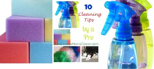 cleaning tips banner e1374678113393 Daily Cleaning Chore Chart FREE Printable