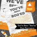 BOO your neighbor free printables