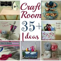 Sew Thankful Series ~35+ Craft Room Organization Ideas~ {Day 20}