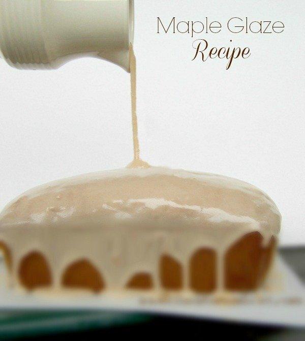 Maple Syrup Glaze For Bundt Cake