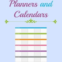 Friday Freebie...2014 Calendars and Planners