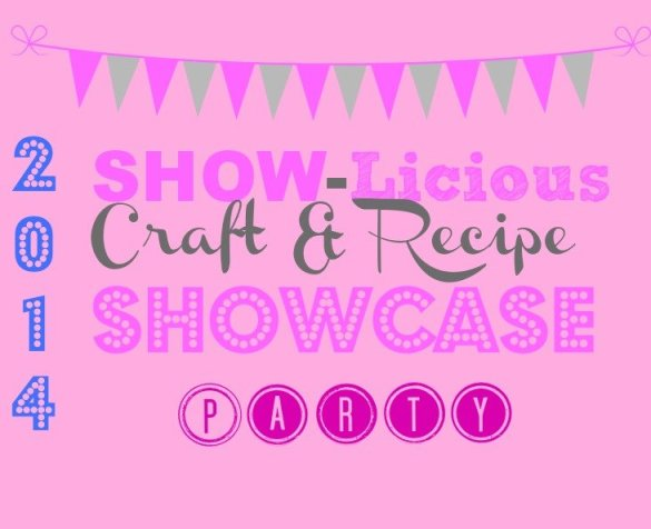 craft party logo Saturday SHOW=licious Craft and Recipe Showcase