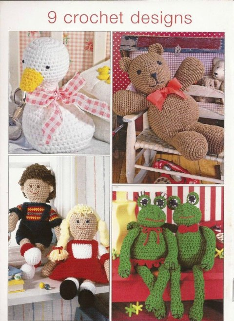 CROCHET book9 Make It Gift It Crochet Toys for Tots