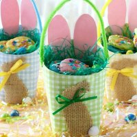 Easter Egg Paper Baskets  + $10 Gift Card Giveaway