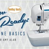 Sew Ready Machine Basics Sewing Class