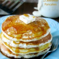Best Homemade Buttermilk Pancakes