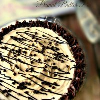 Best No Bake Peanut Butter Cream Pie with A Chocolate Cookie Crust