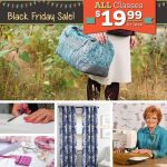 Black Friday Sale at Craftys!  Classes 19.99 and less!