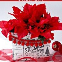 DIY Flower Box at sewlicioushomedecor.com