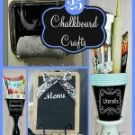 25 DIY Chalkboard Paint Craft Ideas