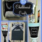 25 DIY Chalkboard Paint Craft Ideas